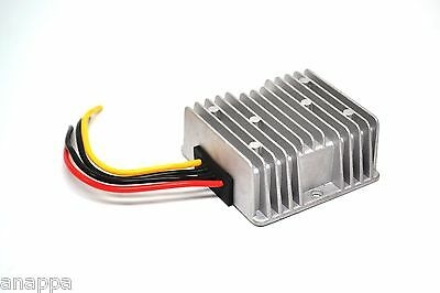 24v to 12v DC to DC Step Down Converter Regulator - 20A / 240W Waterproof - New!