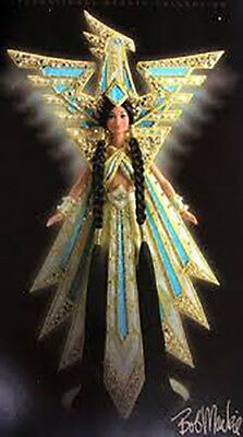 Bob Mackie FANTASY GODDESS OF THE AMERICAS Barbie Doll-MIB-Limited Edt.-RV $240