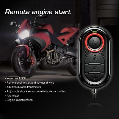 Motorcycle Anti-theft Alarm Security System Remote Control Engine Start P6H3