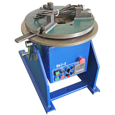 300kg WDBWJ-3 Automatic Welding Positioner With Chuck For Mig/Tig Welding Y