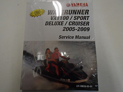 2006 yamaha waverunner vx110 sport vx110 deluxe service repair shop rh picclick co uk
