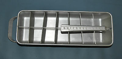 Frigidaire Quickube Single Ice Cube Tray Vintage Mid Century Modern