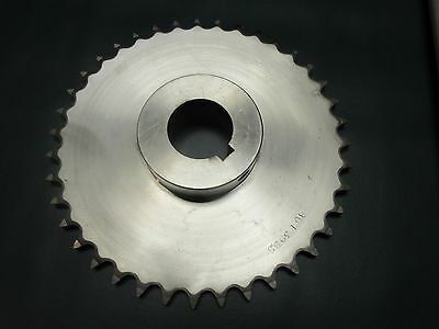 "Martin Sprocket 80B39 SS 2 1/2"", Stainless Steel ,Teeth (80BS39 SS 2 1/2"" Bore)"