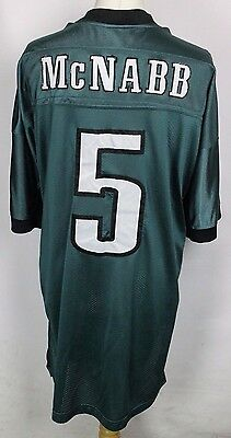 McNABB #5 PHILADELPHIA EAGLES NFL AMERICAN FOOTBALL JERSEY REEBOK MENS SIZE 58""
