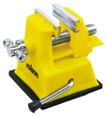Rolson Mini Plastic Vice Strong Suction Grip For Craft Hobby & DIY USE