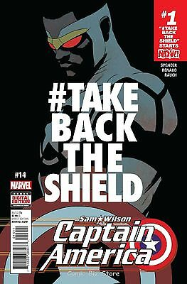 Captain America Sam Wilson #14 (2016) 1St Printing Bagged & Boarded