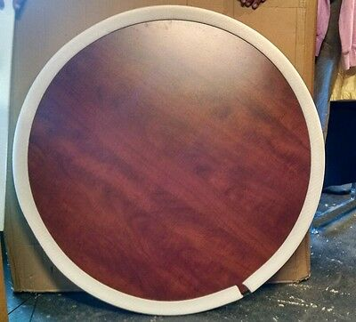 Regency 36-inch Round Table Top Reversable Cherry/Maple (No Legs)