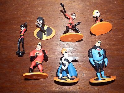 Disney The Incredibles figure toy playset Violet Bob Parr Edna Mode Syndrome