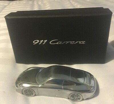 Porsche 991 911 Turbo Limited Edition Solid Billet Aluminum Paperweight/model