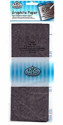 Graphite Paper 9x13inches 4pack Gray
