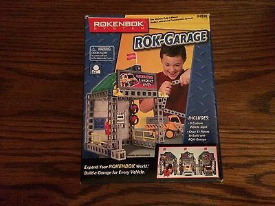 Rokenbok 04318 Rok-Garage for the Rokenbok System New in Box
