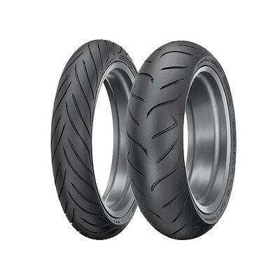 Dunlop RoadSmart 2 Sport Touring Tyres Pair - 180/55 Rear with 120/70 Front