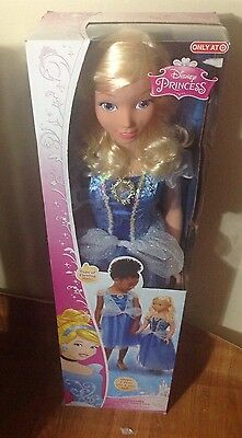 "My Size Disney Princess Cinderella Fairytale Friend Doll 38"" Target Exclusive"
