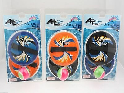 12 x Catch and Throw Ball Set 3 Piece pool toy bulk wholesale lot