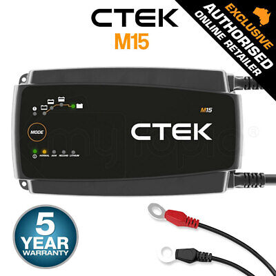 CTEK D250SA Dual DC Solar Smart Battery Charger Cooler Bag Kit 4WD 12V D250S