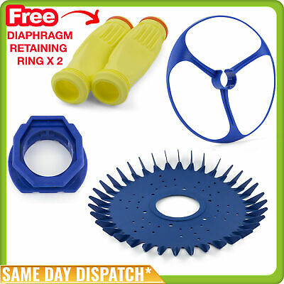 Zodiac Baracuda Pool Cleaner Kit - Disc, Foot, Bumper, 2 X Diaphragm - Generic