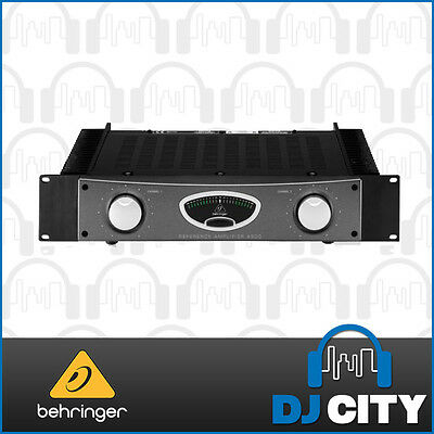 Behringer A500 Power Amplifier Professional 600W Reference-Class Studio Amp