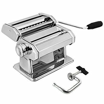 Amos 3 In 1 Heavy Duty Stainless Steel Professional Fresh Pasta Lasagne Spaghett