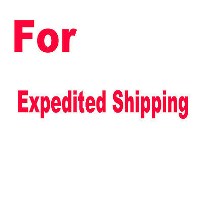 For Expedited Shipping