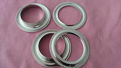 Curtain Grommets&Washers Eyelets, #12 (40mm×62mm) (10 set a bag), Nickel Plated