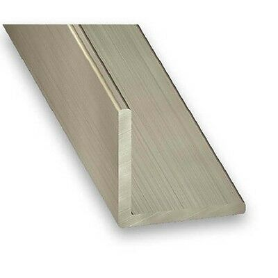 Stainless Steel 304L Grade Equal Angle Corner 15, 20mm & 25mm x 1m (1mm Thick)