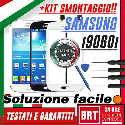TOUCH SCREEN SAMSUNG GALAXY GRAND NEO PLUS gt-I9060I DISPLAY SCHERMO VETRO+KIT S