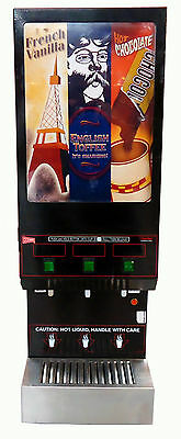 Cecilware GB3M-LD Three Flavor Cappuccino Machine Dispenser