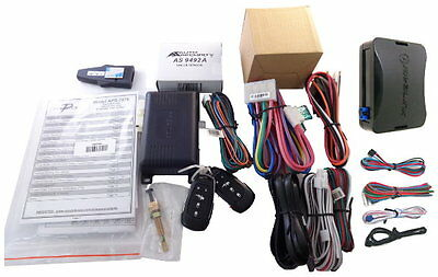 Deluxe 1-Way Remote Starter Kit +  Security System For Select Acura 1997-2008