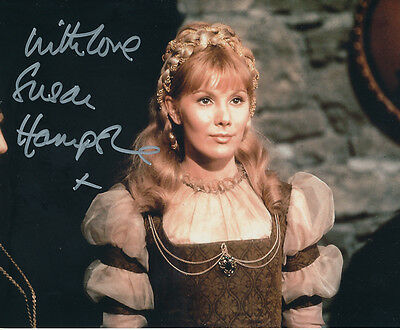Susan Hampshire In Person Signed Photo - A1062 - Malpertuis
