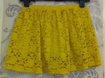 Girls Zara Yellow Skirt In Age 9-10 Years Old