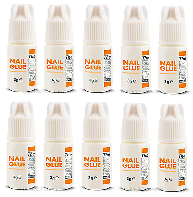 3g FALSE NAIL ADHESIVE GLUE THE EDGE UV GEL ACRYLIC NAILS- ANTI-FUNGAL