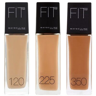Maybelline Fit Me! Liquid Foundation - Choose Your Shade 30ml
