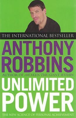 Unlimited Power by Anthony Robbins NEW