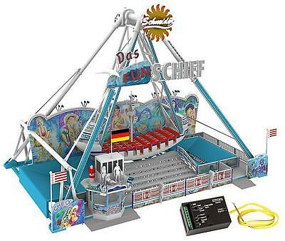 FALLER 140420 Amusement ride FUNSCHIFF with Drive NIP