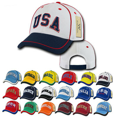 1 Dozen Country Logo Jersey Mesh 6 Panel Constructed Baseball Caps Hat  Wholesale 808f16c2c0e3