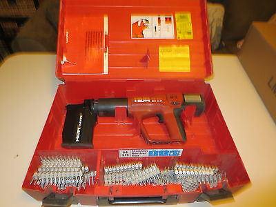 Hilti DX-A41 Powder Actuated Fastening Systems Nail Gun Kit With Case