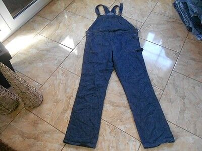 H8927 Yessica Dungarees Jeans W34 L34 Dark blue Very good