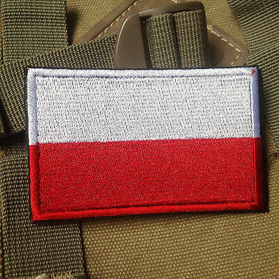 Poland Poles NATIONAL FLAG MILSPEC MORALE TACTICAL MILITARY AIRSOFT PATCH