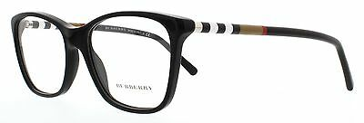 Burberry BE 2141 3001 Black Womens Eyeglasses Size 53