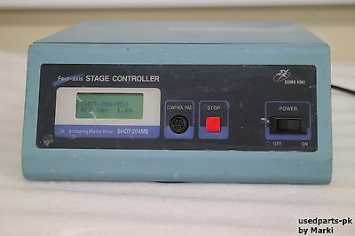 Sigma Koki Shot-204Ms 4-Axis Stage Controller Power On Tested