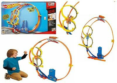 Hot Wheels Super Loop Chase Car Race Track Ages 5+ New Toy Gift Boys Play Fun