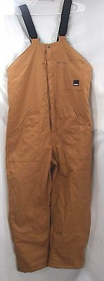 Craftsman Men's Insulated Bib Overalls with Teflon Size XL X-LARGE New with Tags