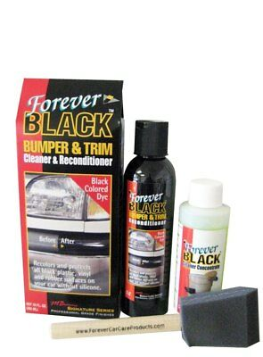 Forever Black Bumper & Trim Dye Kit