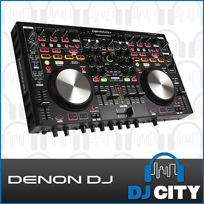 MC6000Mk2 Denon DJ 4 Channel Pro DJ Controller with Serato DJ - DJ City Austr...