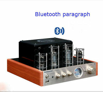 MS-10DMKII Bluetooth Tube Amplifier 25W *2 upgraded version 220V