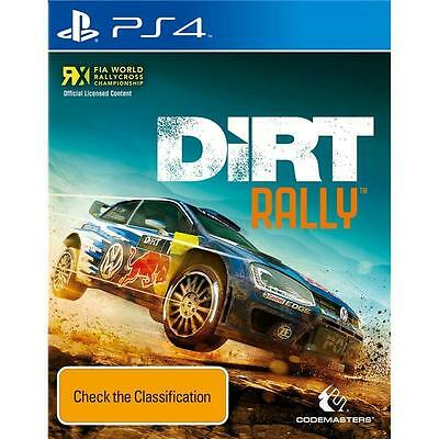 Dirt Rally PS4 Brand New *DISPATCHED FROM BRISBANE*
