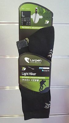 Pack 2 pares de calcetines LORPEN LIGHT HIKER