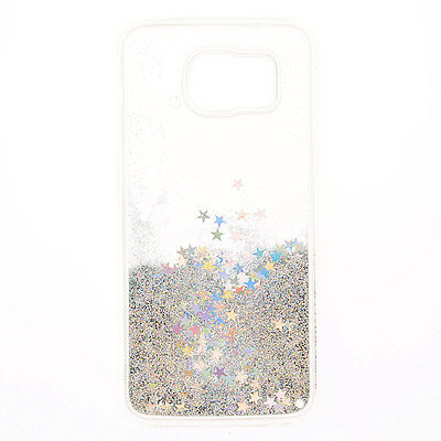 Claire's Girls and Womens Glitter Star Liquid Fill Phone Case