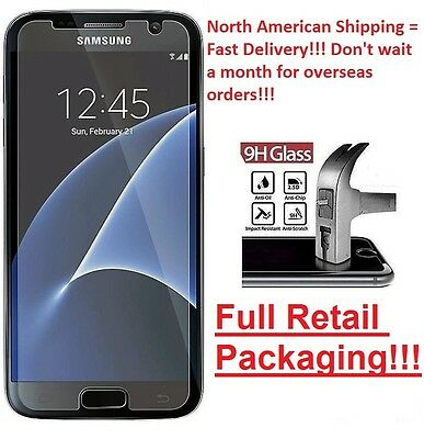 Tempered Glass Screen Protector for Samsung Galaxy S6 and S7