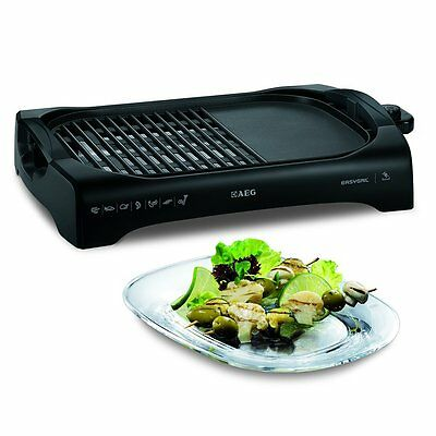 AEG TG340 Electric Portable Table Grill and Hot Plate  2200w | Dishwasher Safe